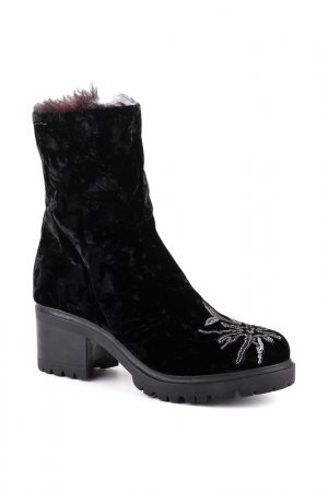 Ботинки Alexander Hotto. Цвет: чёрный