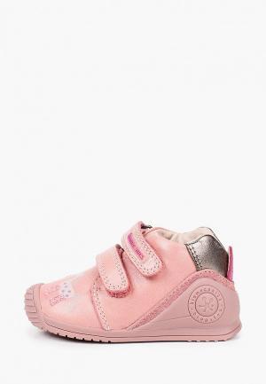 Ботинки Biomecanics. Цвет: розовый