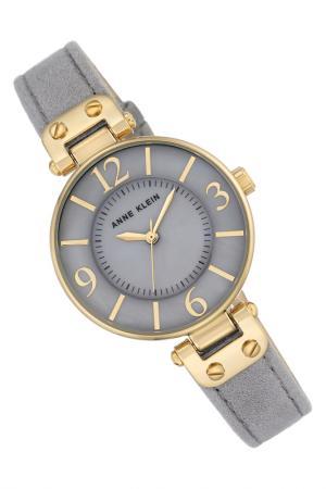 Часы наручные ANNE KLEIN. Цвет: серый