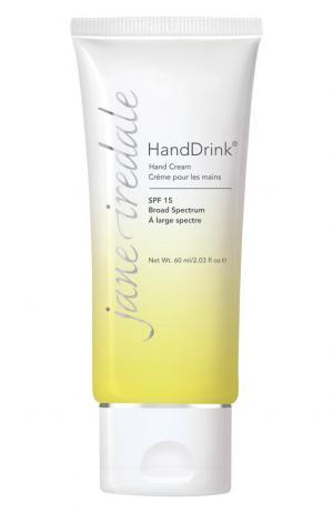 Увлажняющий крем для рук HandDrink SPF 15 jane iredale. Цвет: бесцветный