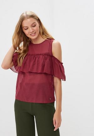 Блуза Motivi. Цвет: бордовый
