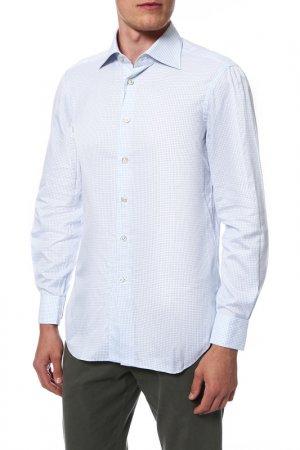 Рубашка Kiton. Цвет: 01