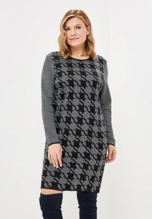 Платье Milana Style. Цвет: черный
