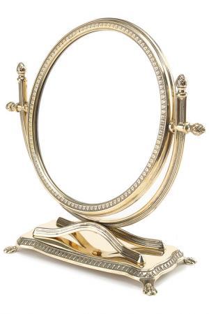 Зеркало, 29х30 см Stilars. Цвет: золотой