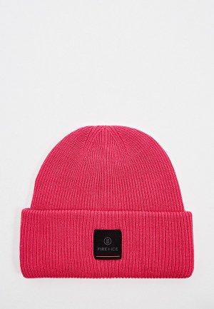 Шапка Bogner Fire+Ice. Цвет: розовый