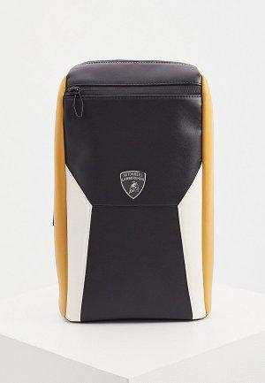 Сумка Automobili Lamborghini. Цвет: черный