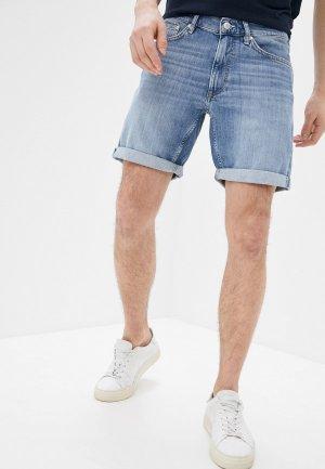 Шорты джинсовые Gant. Цвет: голубой