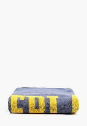 Полотенце Everlast. Цвет: серый