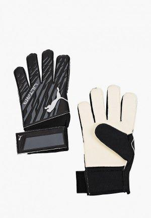 Перчатки вратарские PUMA. Цвет: серый