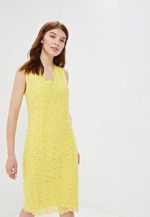 Платье Wallis. Цвет: желтый