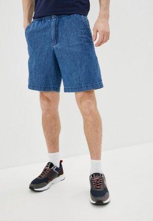 Шорты джинсовые Bikkembergs. Цвет: голубой