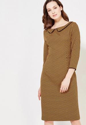 Платье MadaM T. Цвет: желтый