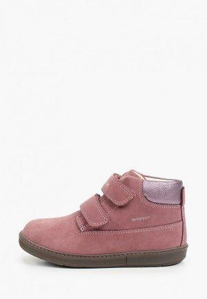 Ботинки Geox. Цвет: розовый