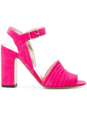 Босоножки Tyche Michel Vivien. Цвет: розовый и фиолетовый