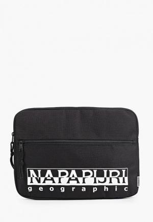 Чехол для ноутбука Napapijri. Цвет: черный