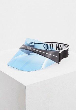 Козырек Christian Dior. Цвет: синий