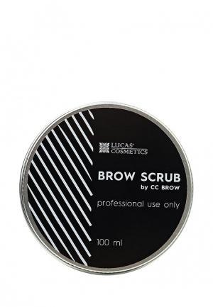 Скраб для бровей CC Brow. Цвет: белый