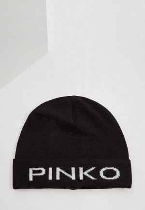 Шапка Pinko. Цвет: черный