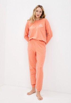 Пижама Winzor. Цвет: коралловый