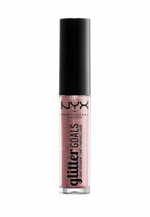 Тени для век Nyx Professional Makeup. Цвет: розовый