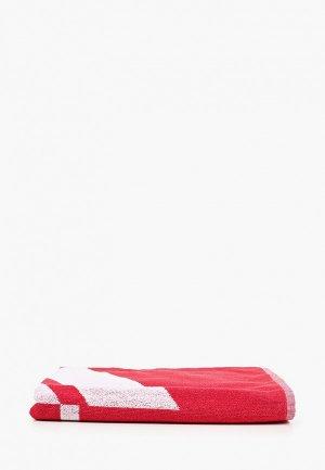 Полотенце adidas. Цвет: красный