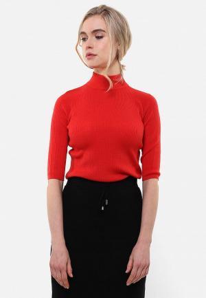 Водолазка Sana.moda. Цвет: красный