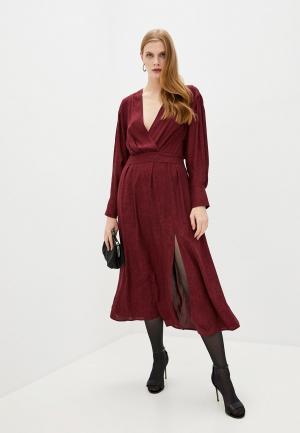 Платье Iro. Цвет: бордовый