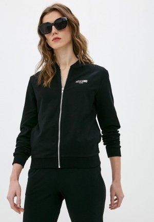 Олимпийка Moschino Couture. Цвет: черный