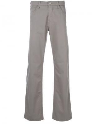 Слегка расклешенные джинсы свободного кроя Armani Jeans. Цвет: серый