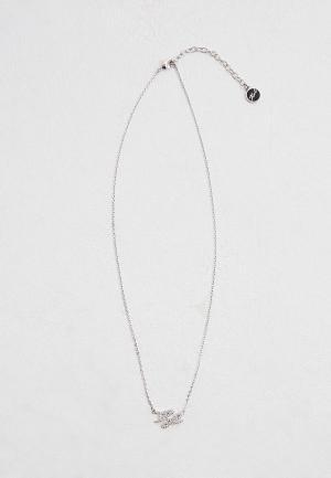Колье Karl Lagerfeld. Цвет: серебряный