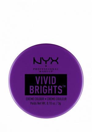 Тени для век Nyx Professional Makeup. Цвет: фиолетовый
