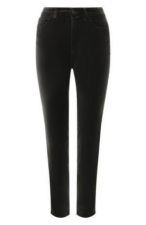 Укороченные джинсы Dolce & Gabbana. Цвет: зеленый
