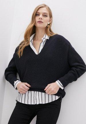 Пуловер Emporio Armani. Цвет: синий