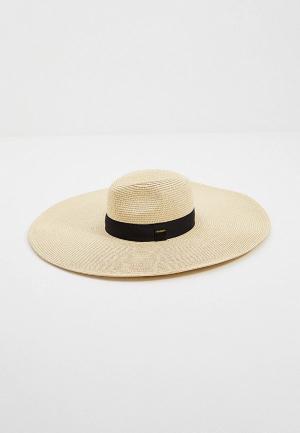 Шляпа Twinset Milano. Цвет: бежевый