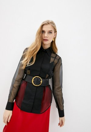 Блуза Helmut Lang. Цвет: черный