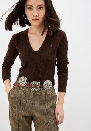 Пуловер Polo Ralph Lauren. Цвет: коричневый