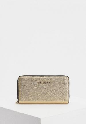 Кошелек Love Moschino. Цвет: золотой