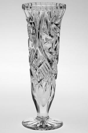 Ваза 21 см Crystalite Bohemia. Цвет: прозрачный