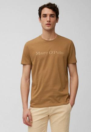 Футболка Marc OPolo O'Polo. Цвет: коричневый