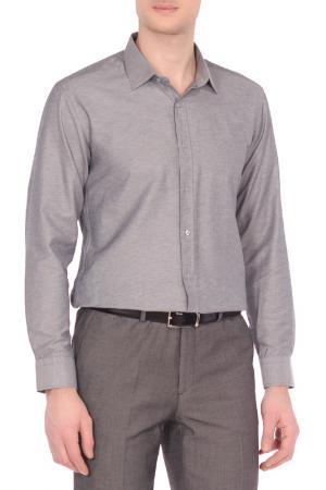 Рубашка KarFlorens. Цвет: темно-серый