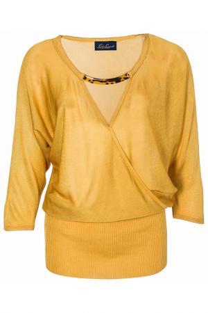 Туника LUISA SPAGNOLI. Цвет: желтый