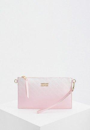 Клатч Versace Jeans Couture. Цвет: розовый