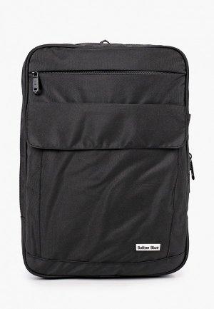 Рюкзак Button Blue. Цвет: черный