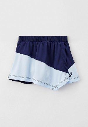 Юбка-шорты ASICS. Цвет: синий