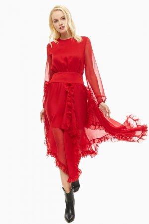 Платье MISS SIXTY. Цвет: красный