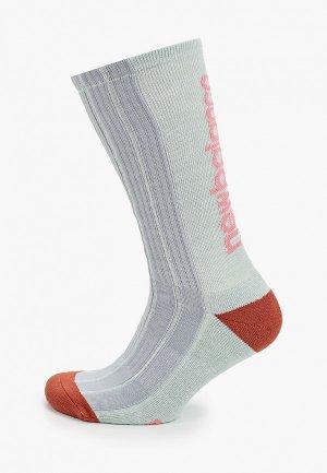 Носки New Balance. Цвет: бирюзовый