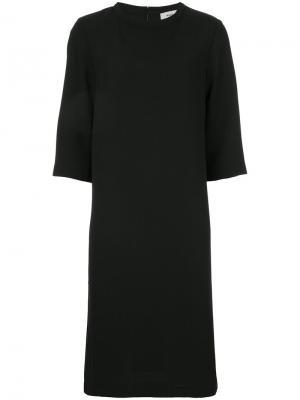 Платье Dussa Mads Nørgaard. Цвет: чёрный