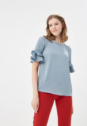 Блуза Motivi. Цвет: голубой