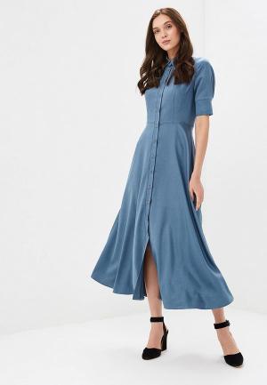 Платье Gregory. Цвет: бирюзовый