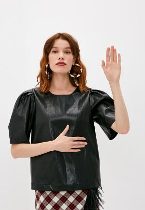 Блуза Boutique Moschino. Цвет: черный